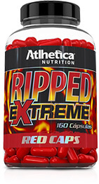 RIPPED EXTREME RED CAPS